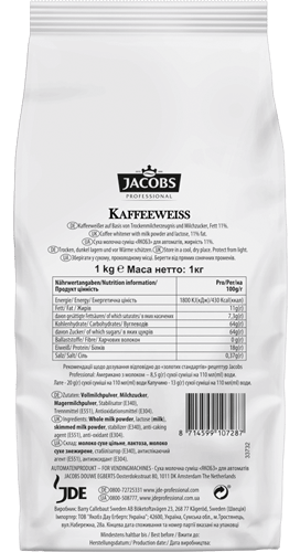 JACOBS POWDER MILK MIX